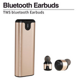 A2 TWS Wireless Bluetooth Earphone with Power Bank In-Ear Stereo Earbuds - Bluetooth Earphone - Youngerfan