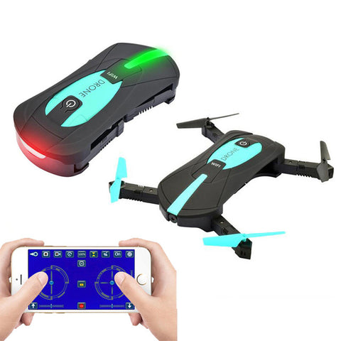 FPV rMini Foldable Selfie Drone RC Drones with 2MP Camera HD FPV Professional H37 720P RC Helicopte - Drone - Youngerfan