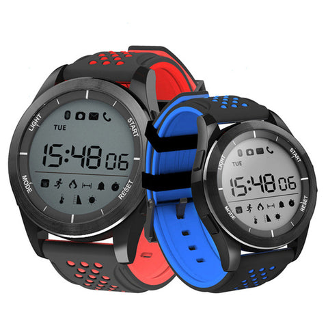 IP68 Waterproof  Sports Bluetooth Smartwatch with Remote Camera -  - Youngerfan