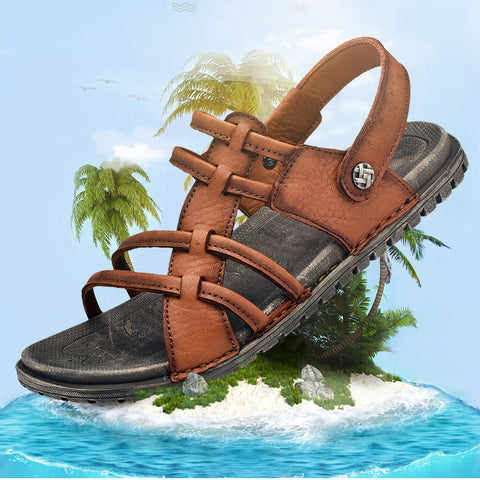 Genuine Leather Sandals Breathable Sandals