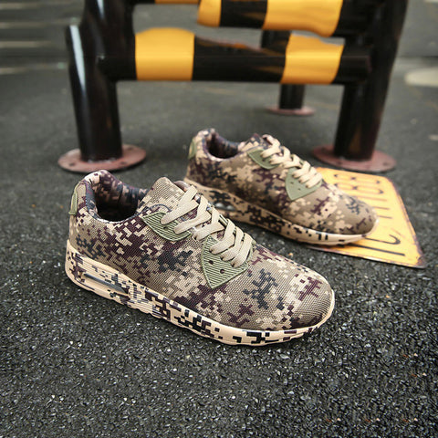Canvas Camouflage Star Style Male Shoes