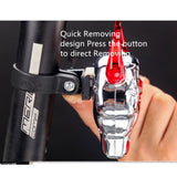 Bicycle Devil Skull Projection Laser Taillight - Light - Youngerfan