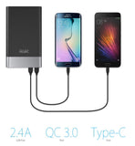 P3 QC3.0 Quick Charge 2.4A Dual Output Power Bank - Power Bank - Youngerfan