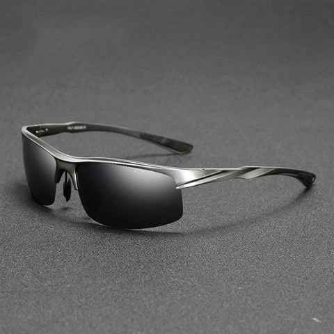 Men Driving Sunglasses Aluminum Frame Polarized Sunglasses - Glasses - Youngerfan
