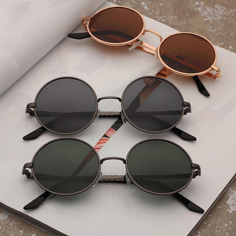 Fashion Sunglass TAC Lens Polarized Classic  Round Sunglasses - Glasses - Youngerfan