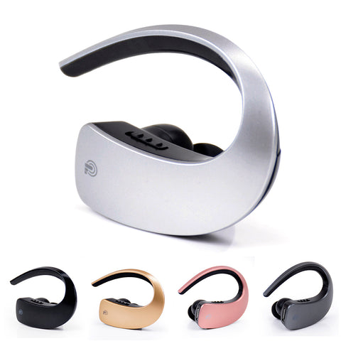 Wireless Mini Invisible Q2 Bluetooth V4.1 Earphones Noise Cancelling Stereo Touch Button - Bluetooth Earphone - Youngerfan