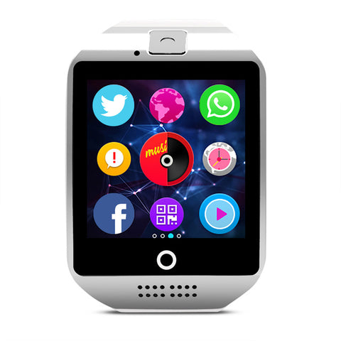 Bluetooth Smart Watch With Camera - Smart Watches - Youngerfan