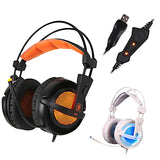 Gaming Noise-Isolating Breathing LED Headset