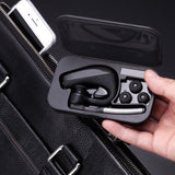 HandsFree Wireless Stereo 4.1 Bluetooth Car Driver Earphones + Storage Box - Bluetooth Earphone - Youngerfan