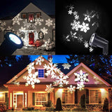 White led snowflake garden lights - Electronics - Youngerfan