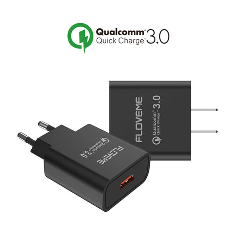 FLOVEME Original Qualcomm Quick Charge 3.0Fast Charger (EU / US) - Charger - Youngerfan
