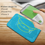 Ultrathin PU leather wireless charger - Charger - Youngerfan