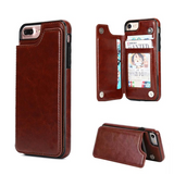 Luxury Leather Flip Hidden Card Stand Phone Case - Phone Case - Youngerfan