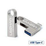 OTG USB Flash Drive Type-C 3.1 Dual Metal Port - Laptop Accessories - Youngerfan