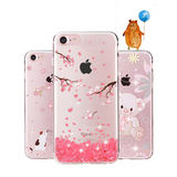 Estival Luxury Cute Crystal Diamond Soft Silicone Case - Phone Case - Youngerfan