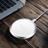 Ultra Slim 10w Fast Charging Wireless Charger - Charger - Youngerfan