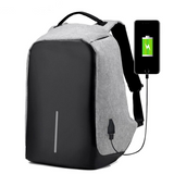 Anti-Theft USB Charging Travel Waterproof Backpack - Bags - Youngerfan