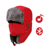 Winter Warm Bomber Hats With Smart Earphone - Hat - Youngerfan