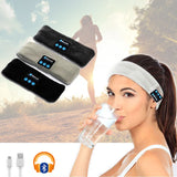 SMART WIRELESS SPORT HEADBAND - PERFECT FOR SLEEP AND WINTER RUNNING! - Bluetooth Earphone - Youngerfan
