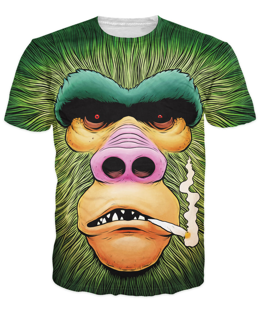 3365825fcf87 Gorilla Mens Womens Clothing 3D Animal T-Shirts
