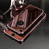 Luxury Full Body Case  Hard PC 360 Degree Temper Glass Screen Protector Cover - Phone Case - Youngerfan