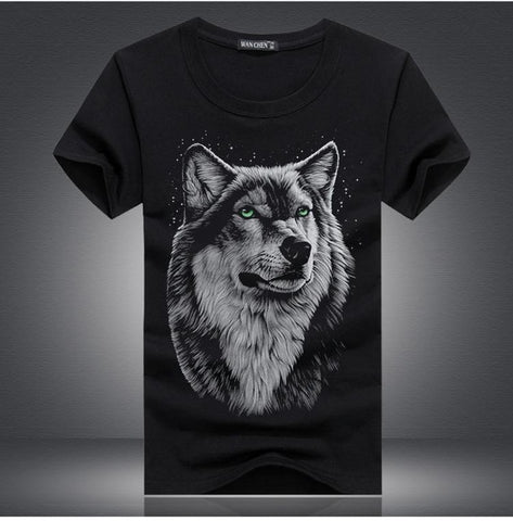 2018 New 3D Short Sleeve Men Fashion T-Shirts