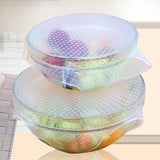 4pcs Useful Food Fresh Keeping Saran Wrap - Gadgets - Youngerfan
