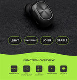 Mini Business Wireless Bluetooth Headset - Bluetooth Earphone - Youngerfan