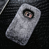 Winter Warm Fur PC Protective Back Case Cover For Samsung Galaxy - Phone case - Youngerfan