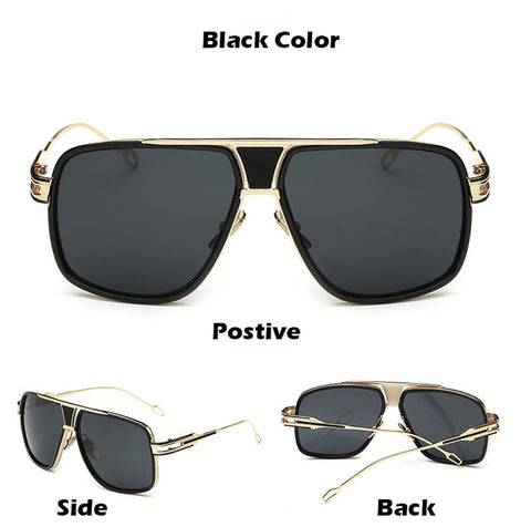 High Quality Retro Sun Glasses Vintage Gafas Oculos - Glasses - Youngerfan