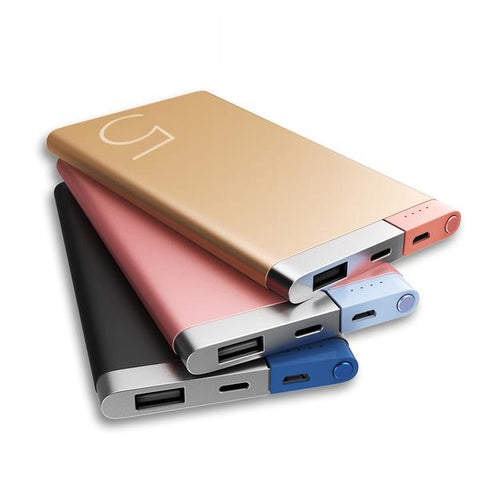 Portable Charger Dual Input Ports Power Bank - Power Bank - Youngerfan