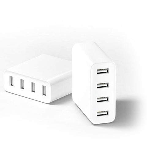 Mi USB Charger 4 Port 2.4A Quick Charge - Charger - Youngerfan