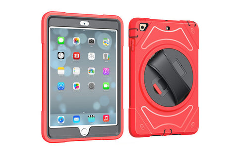 Ipad 9.7 inch Hand Riem Houder Full Body Armor Shockproof Case Cover - Electronics - Youngerfan