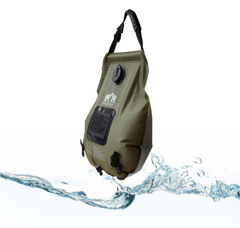 Portable Outdoor Camping Solar Shower Water Bag - Water Bag - Youngerfan