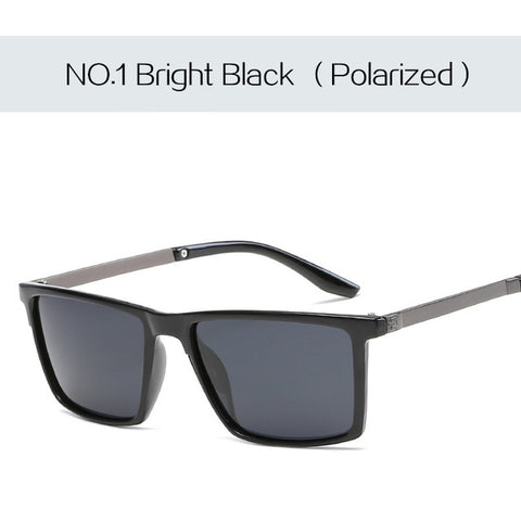 Polarized Men Sunglasses Ultra-light Material Square Sunglasses - Glasses - Youngerfan