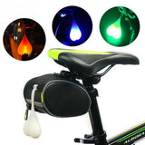 Silicone Bicycle  LED Safety Warning Tail Flashlight  Light - Gadgets - Youngerfan