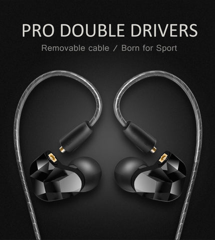 New 3.5mm Wired In ear HiFi Bass Headphones with Mic - Headphones & Earphones - Youngerfan