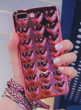 For iPhone X Love Heart Jelly Candy Phone Case - Phone case - Youngerfan