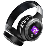 HiFi Bass Stereo Bluetooth Headphone LCD Display - Bluetooth Earphone - Youngerfan