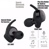 Wireless Mini Bluetooth Sport In-Ear Earphone - Bluetooth Earphone - Youngerfan