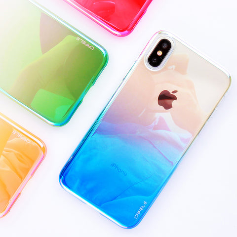 iPhone X Case Photochromism Plastic Hard Case - Phone Case - Youngerfan
