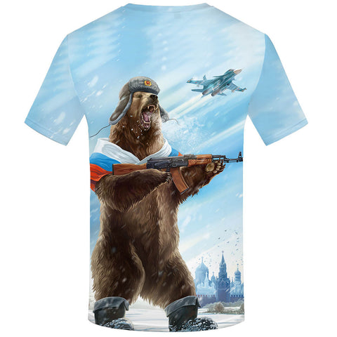 Cool 3D T Men's T-Shirts