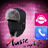 Winter Warm Bomber Hats With Smart Earphone - Electronics - Youngerfan