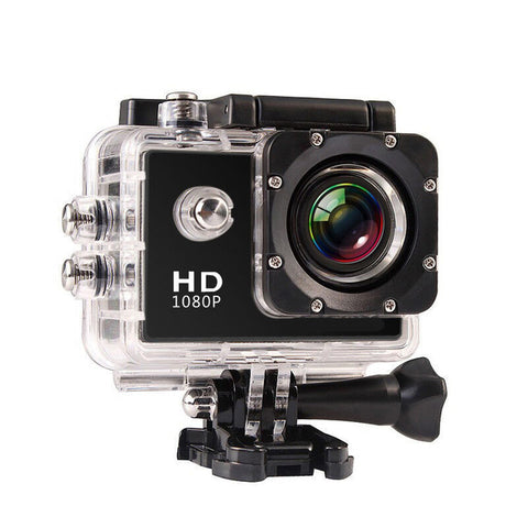 HD Outdoor Waterproof  Mini Sport Action Camera 1080P - Camera - Youngerfan