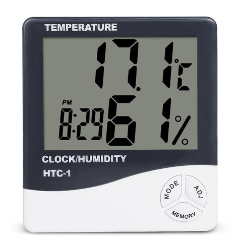 Indoor Room LCD Electronic Temperature Humidity Meter - Home - Youngerfan
