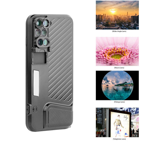 High Quality Camera Lens Cover Distinctive Dual Camera Fisheye Lens - Phone Case - Youngerfan