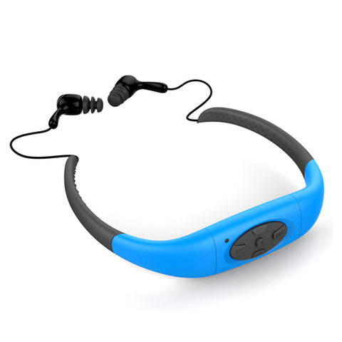 IPX8 Waterproof 8GB Underwater Sport  Earphone  Headset - earphone - Youngerfan