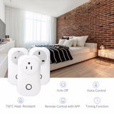 WIFI Wireless Smart Remote Control Socket Plug - Smart Home - Youngerfan