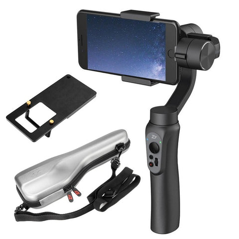 Smooth Q 3-Axis Handheld Gimbal Stabilizer for Smartphone - Cell Phone Accessories - Youngerfan