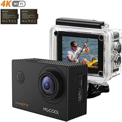 HD 4K Action Camera 30m waterproof Wide Angle Lens Sports Cameras - Camera - Youngerfan